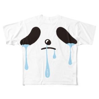 限界パンダさん Full graphic T-shirts