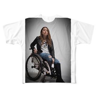ロゴなしシリーズ Full graphic T-shirts