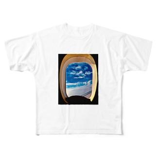 旅立ちの日に Full graphic T-shirts