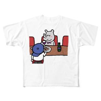 テリーヌとサイくん Full graphic T-shirts
