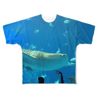 クジラ❔ Full graphic T-shirts