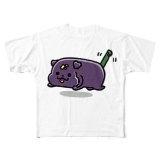 ようかんいぬ Full graphic T-shirts
