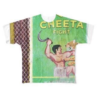 Cheeta Fight Full graphic T-shirts