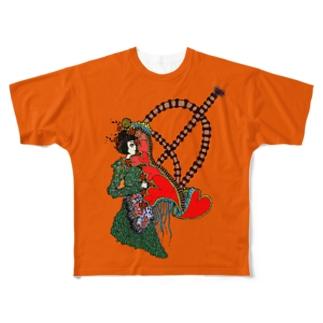 恋の弓キリキリ Full graphic T-shirts