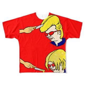 り〜ぜんと Full graphic T-shirts
