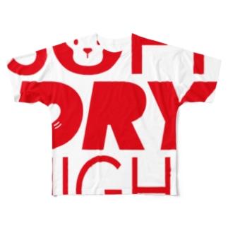 SOFT DRY NIGHT Full graphic T-shirts
