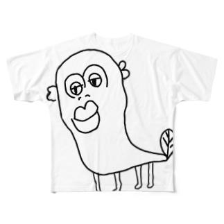 伝説のウナギイヌ Full graphic T-shirts