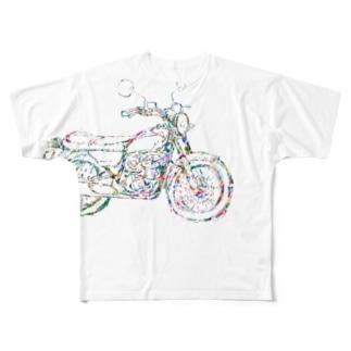 bike_5 Full graphic T-shirts