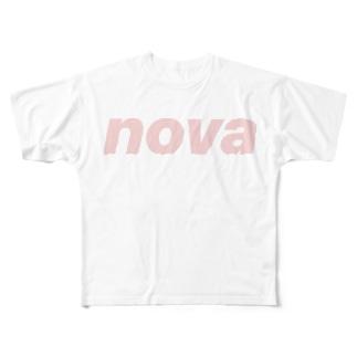 NOVA(ノヴァ) Full graphic T-shirts