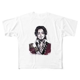 ホセさん Full graphic T-shirts