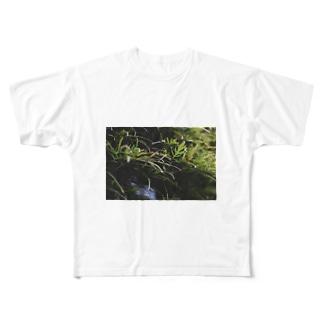 草の匂い Full graphic T-shirts