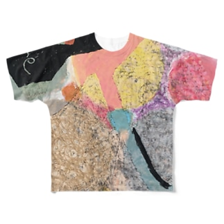 colorful Full graphic T-shirts