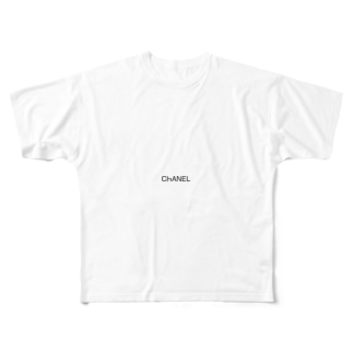 ChANEL Full graphic T-shirts