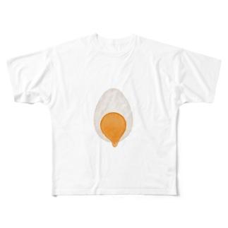 ゆでたまご Full graphic T-shirts