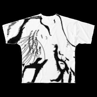 散歩企画のおとらさん Full graphic T-shirts