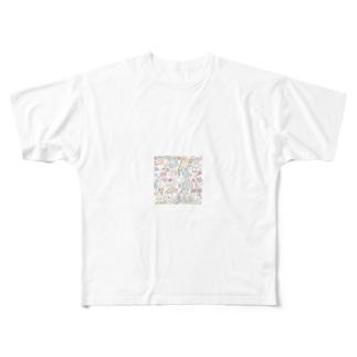 缶バッチ Full graphic T-shirts