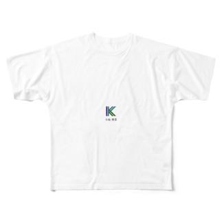 会社ロゴ  Full graphic T-shirts
