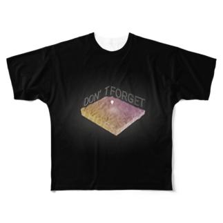 地形Tシャツ@三重県私立青山高校 Full graphic T-shirts