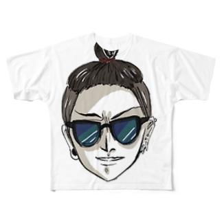 旦那Tシャツ Full graphic T-shirts