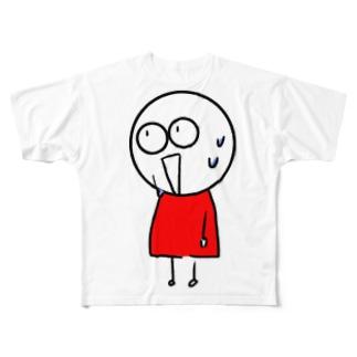 チビィズ(赤) Full graphic T-shirts