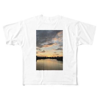 a・sa・hi Full graphic T-shirts