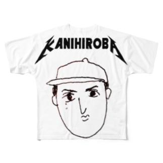 かにひろばunofficial Full graphic T-shirts