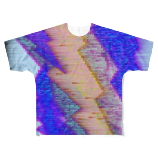 水草の雷10 Full graphic T-shirts