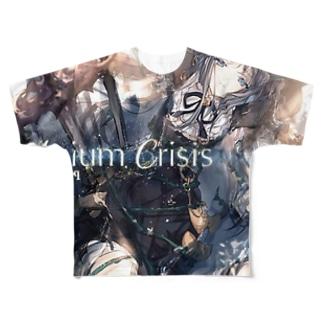 R6S98964332のArcaea Full graphic T-shirts