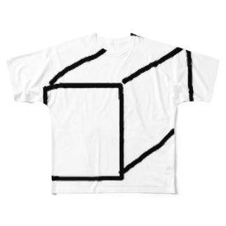 tk64358の立体。 Full graphic T-shirts