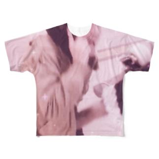 望月めるのグッズ Full graphic T-shirts
