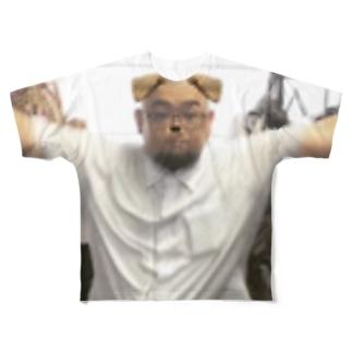 BALENSAGARAのDOG T Full graphic T-shirts