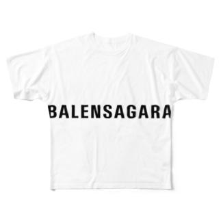 BALENSAGARAのBALENSAGARA T Full graphic T-shirts