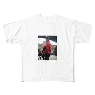 まのカップ Full graphic T-shirts