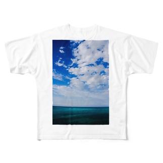 ocean  Full graphic T-shirts