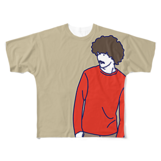 FickleのDarryl Full graphic T-shirts