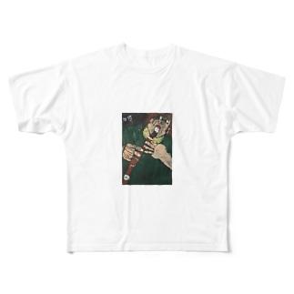 自画像 Full graphic T-shirts