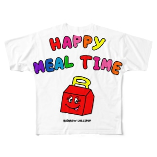 HAPPY MEAL TIME Full graphic T-shirts