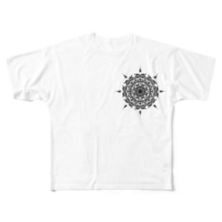 太陽のマーク Full graphic T-shirts
