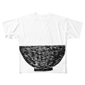 NIKORASU GOの丼 Full graphic T-shirts