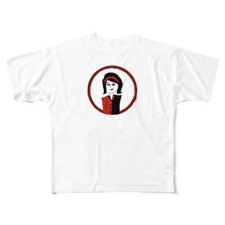 きゃわ Full graphic T-shirts