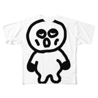 Venizakuraのうわのそらくん Full graphic T-shirts