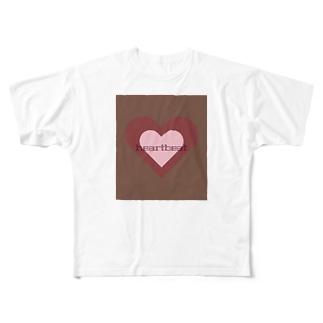 heartbeat Full graphic T-shirts