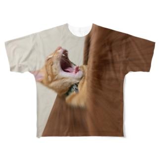 さけべ Full graphic T-shirts