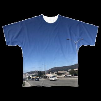 hontodessuのアメリカ Full graphic T-shirts