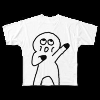 Venizakuraのおーくん Full graphic T-shirts