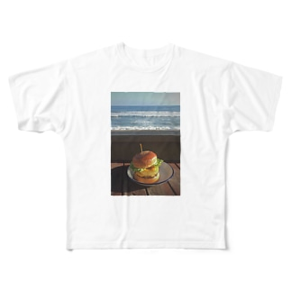 hamburger Full graphic T-shirts