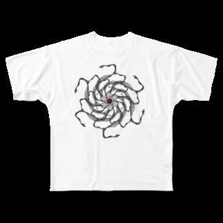 HIBIKI SATO Official Arts.のGraphic#19 Full graphic T-shirts