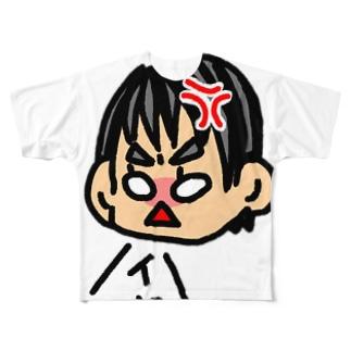 イヤイヤ期 Full graphic T-shirts
