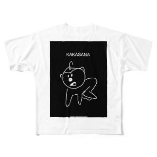 カカーサナTシャツ Full graphic T-shirts