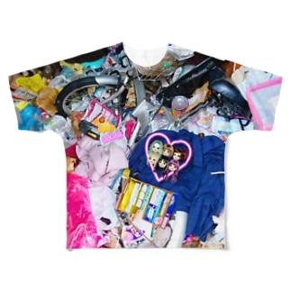 ダスト☆メモリー Full graphic T-shirts